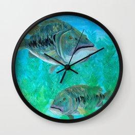 Bass Pairs Wall Clock