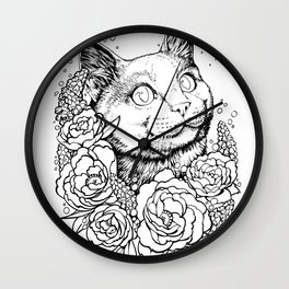 Color-Me Feline: English Short Hair Wall Clock