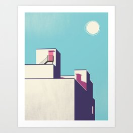 NEIGHBOURHOOD II Art Print