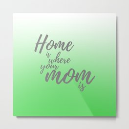 Green Ombre - Mothers Day Gifts Metal Print