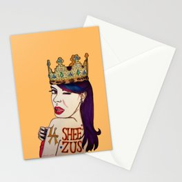 I WANNA BE SHEEZUS Stationery Cards