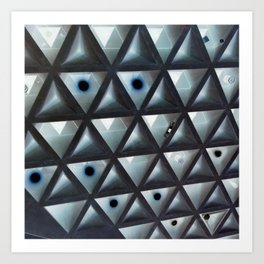 Triangle Gallery Art Print