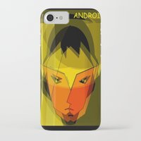 android iPhone & iPod Cases featuring ANDROID. by capricorn