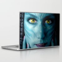 avatar Laptop & iPad Skins featuring Avatar by Karel Stepanek