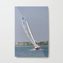 sailing in color Metal Print