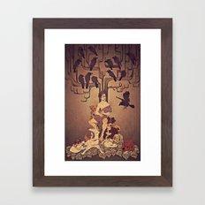 Meditations on Murder - nbc Hannibal Framed Art Print