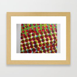 165 Circles Framed Art Print