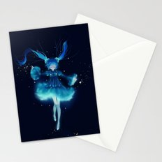 Anime Girl 1 Stationery Cards
