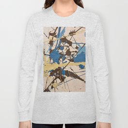 Miniature Original - blue brown beige Long Sleeve T-shirt