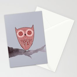 Teacake Owl  Stationery Cards