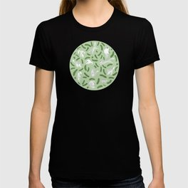 Cats And Cukes - Green Version T-shirt