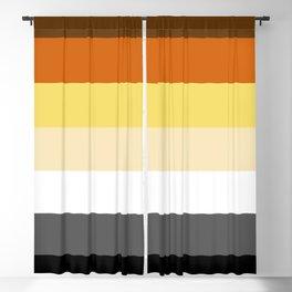 Bear Pride Blackout Curtain
