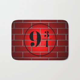peron brick wall Bath Mat