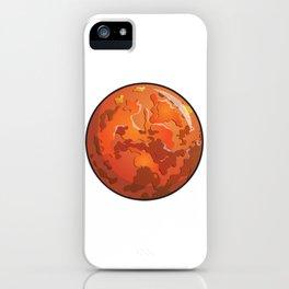 Mars Icon iPhone Case