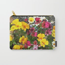 Colorful Nemesia Carry-All Pouch