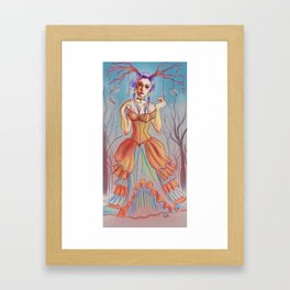 Queen of Paper Airplanes Framed Art Print