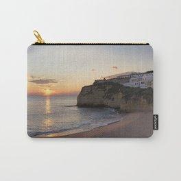 Praia do Carvoeiro at dusk, Portugal Carry-All Pouch