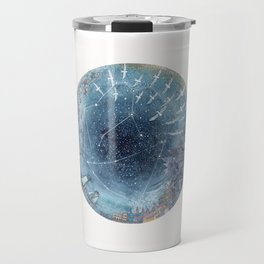 Capricorn & Aquarius friendship Travel Mug