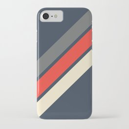 3 Retro Stripes #4 iPhone Case