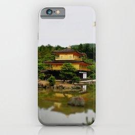kinkaku-ji in colour iPhone Case