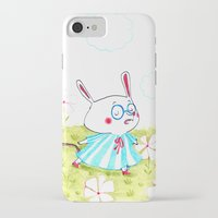 mouse iPhone & iPod Cases featuring Mouse by Maureen Poignonec