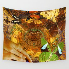 Civitate Dei   City of God  Wall Tapestry