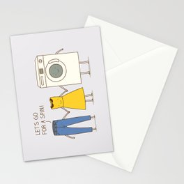 Let's go for a spin! Stationery Cards