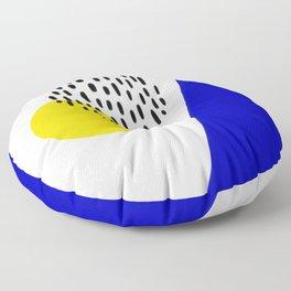 Abstract 004 Floor Pillow