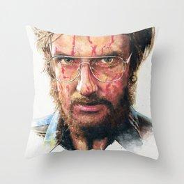 The Stepfather Throw Pillow
