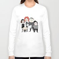 tim shumate Long Sleeve T-shirts featuring Tim Burton Family Guy by Grace Isabel