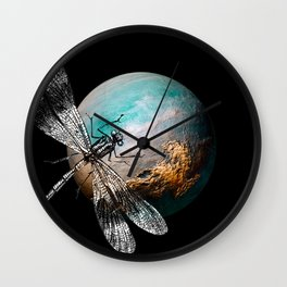 DRAGONFLY V Wall Clock