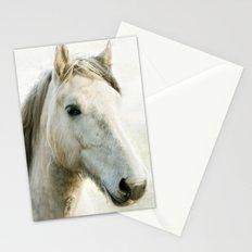White Horse Portrait Stationery Cards