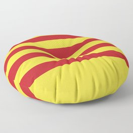 Catalunya: Catalan Flag Floor Pillow
