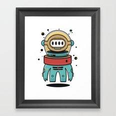 D-Nat boy Framed Art Print