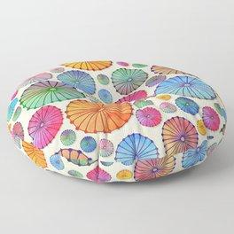 Coctail Umbrellas - Summer Memories Floor Pillow