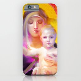 Our Lady Luminescence  iPhone Case