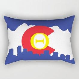 Colorado Theta Rectangular Pillow