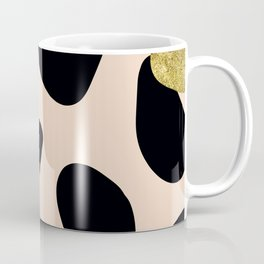 Golden exotics - Cow and soft tangerine Coffee Mug
