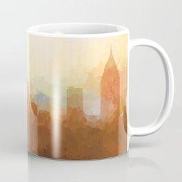 Mobile, Alabama Skyline - In th Clouds Coffee Mug