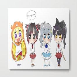 Himouto! Umaru-chan 2 Metal Print