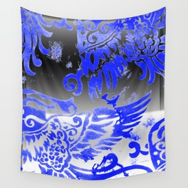 Fly Day or Night Wall Tapestry