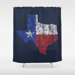 Texas Vintage Shower Curtain