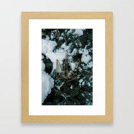 Winter Gold Framed Art Print