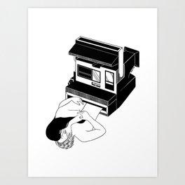 Instant Love Art Print