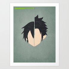 Kirito-Kun Art Print
