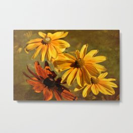 Sunshine in my Garden Two Metal Print