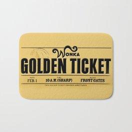 Golden Ticket Bath Mat