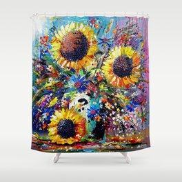 Sunshine and Splendour Shower Curtain