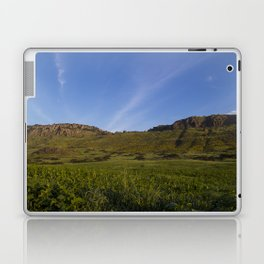 Green Fields Mountains and Blue Sky Laptop & iPad Skin