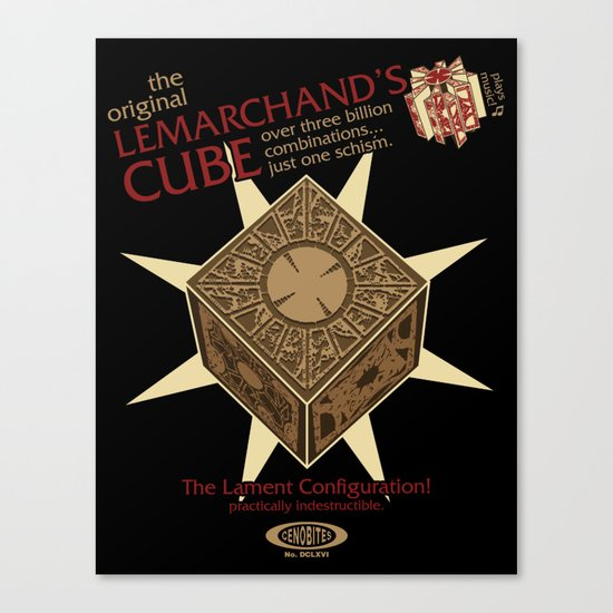 Lemarchand's Cube - Hellraiser Canvas Print